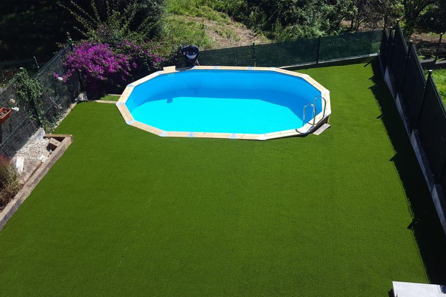Piscina HOMESPORTS NATURE OVALADA 1000