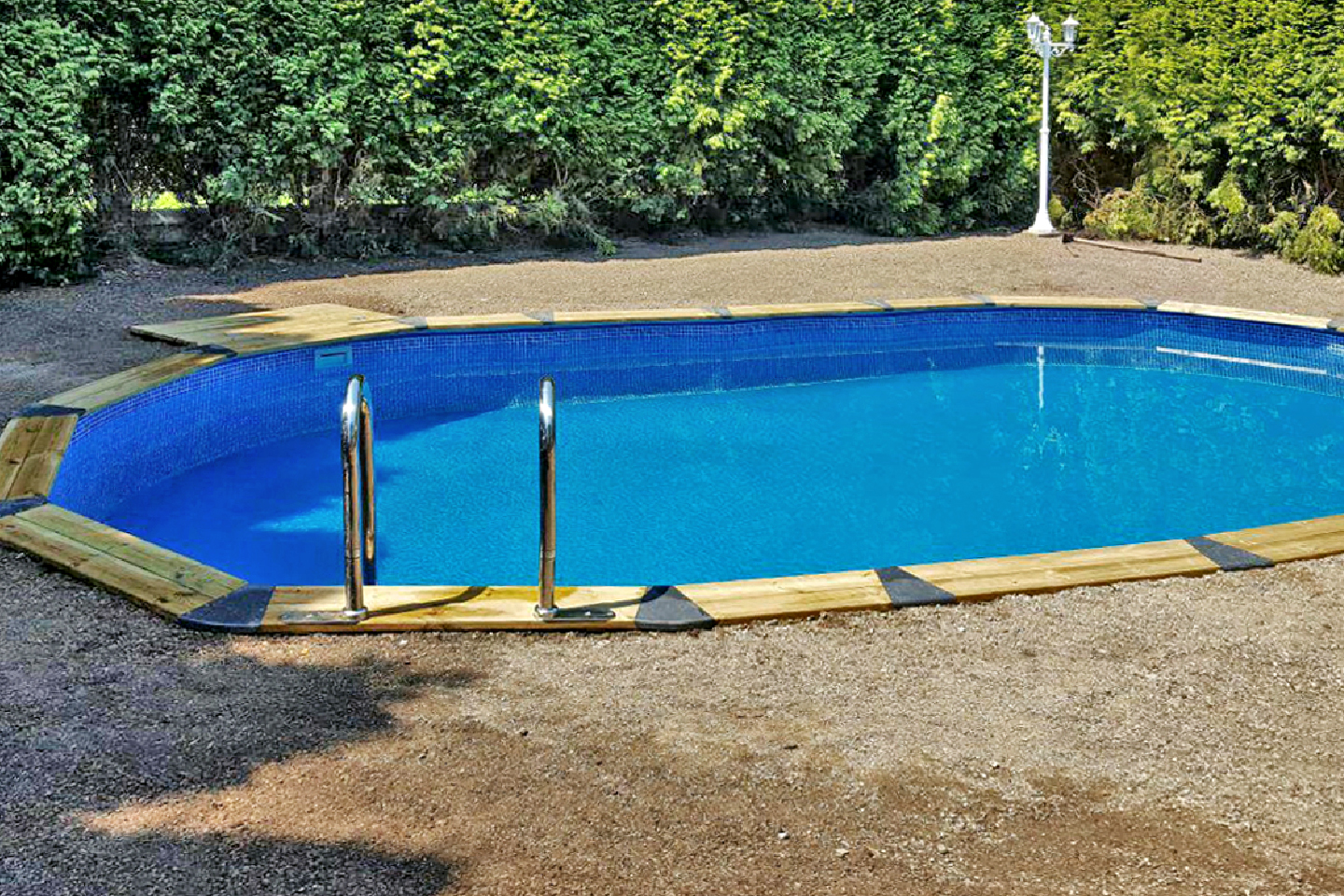 Piscina HOMESPORTS NATURE OVALADA 730