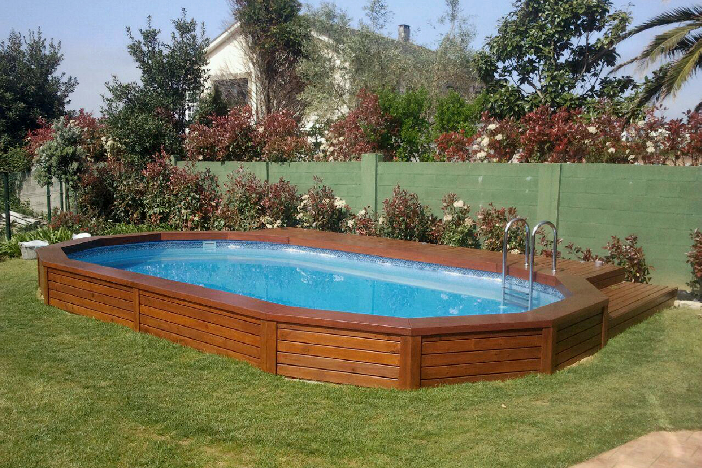 Piscina HOMESPORTS NATURE OVALADA 810