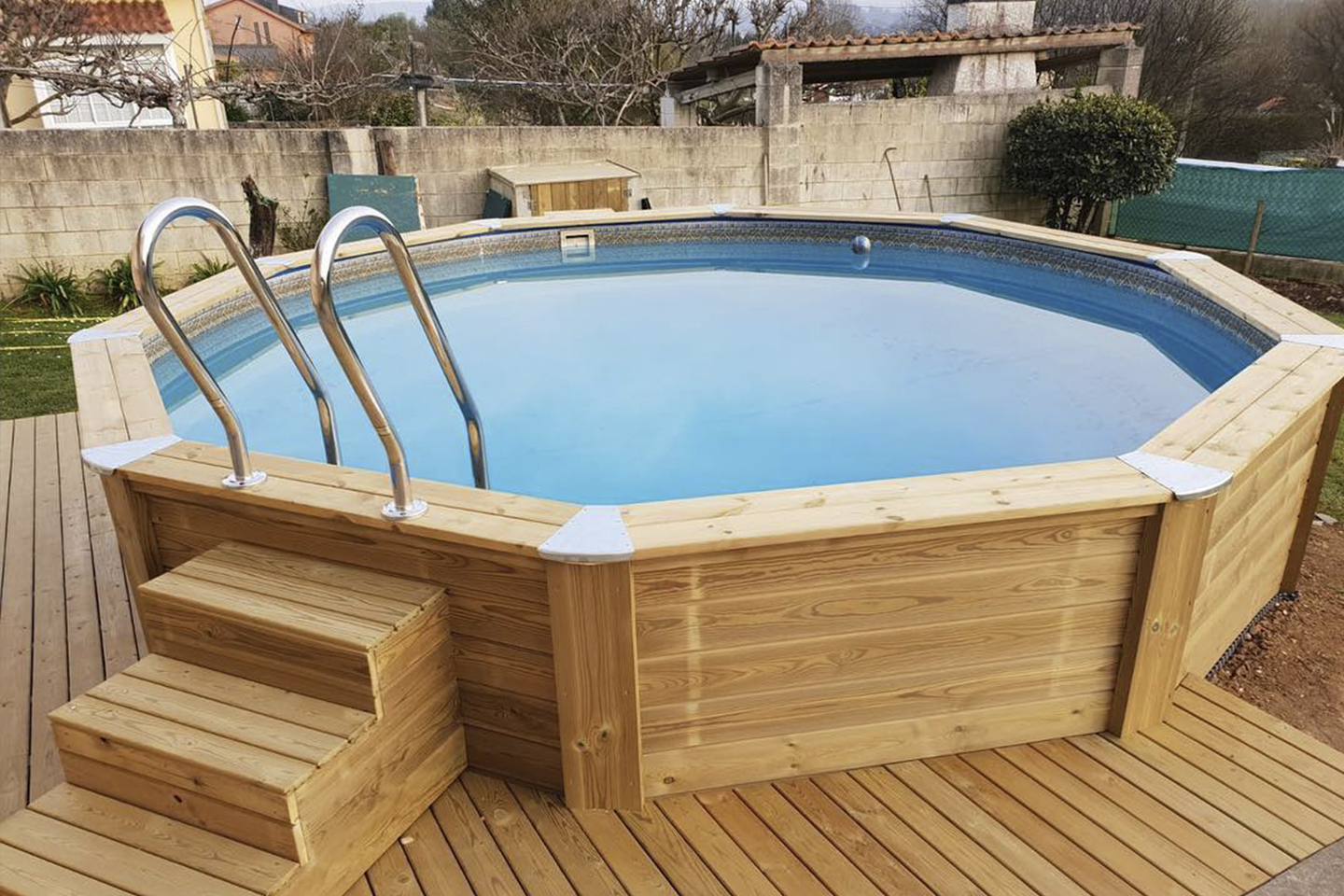 Piscina HOMESPORTS NATURE REDONDA 460